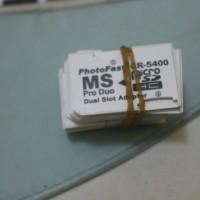 PhotoFast (Adapter Dual MicroSD to Memory Stick Pro Duo)