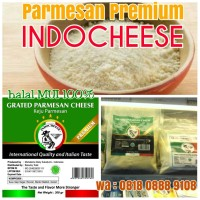 Parmesan Premium Keju Indo (Halal, Kualitas Eropa,rasa Italia)