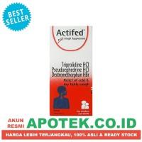 Actifed Merah Sirup 60 ml, Obat Pilek, Batuk Gatal dan Kering