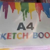 KIKY SKETCH BOOK A4 SKETCHBOOK KIKY A4 SKETCH BOOK KIKY BUKU GAMBAR