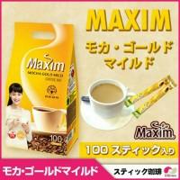 Kopi coffe Maxim Mocha Gold Premium isi 100 sacset