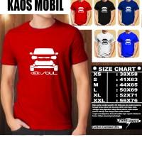 KAOS OTOMOTIF MOBIL KIA SOUL SILUET TD/Baju Mobil Tshirt Balap