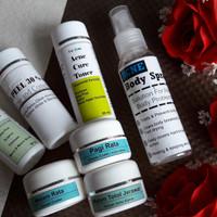 Jual Paket Cream Jerawat / Acne Lv. 2 + Acne Body Spray + Peeling Acne 30% Murah