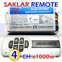 harga Hq - Saklar Remote 4x 1000w Wireless Switch Ac 220v 4 Channel Rf Remot Tokopedia.com