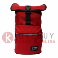 Tas Merk Bodypack 2865 RED / Ransel / Kantor / Sekolah / Backpack