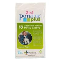 Kalencom 2 in 1 Potette Plus Disposable Portable Potty 10 Liners