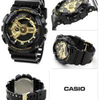 Jual G-Shock GA-110 Gold Black Rubber Murah
