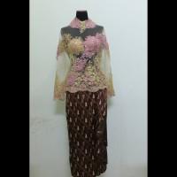 Model Kebaya Pesta Modern Dress Gaun Pesta Wanita Lengan Panjang