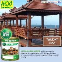 ULTRAN AQUA LASUR (TW TEAK) untuk kayu bangunan eksterior iklim tropis