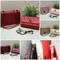 Tas Wanita / Tas  Pesta import / Canel set tas kecil