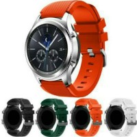 Samsung Galaxy Gear S3 Classic Frontier Strap Tali Jam Tangan Silicone