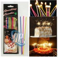 Jual lilin kembang api / lilin ulang tahun / lilin sparkling Murah