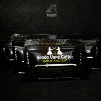 Jual Kendo Vape Cotton Gold Edition Authentic 39