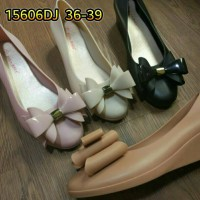 harga Jelly Shoes Bara Bara Wedges Sepatu Wanita Karet Import 15606dj Tokopedia.com