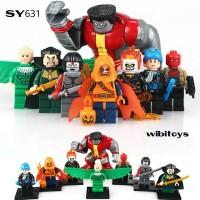 Jual lego kw minifigure super hero SY 631 superhero SY631 Murah