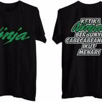 Jual ON SALE today Kaos T-shirt Ninja Cabe-Cabean fast Respon Murah