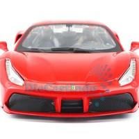 Bburago - Ferrari 488 GTB Merah Skala 1:24