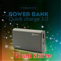 Jual power bank vivan Q10 10200mah Quick charger powerbank fast charger Murah