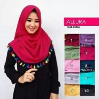 Grosir Jilbab Tanah Abang Hijab Instan Allura KHimar Allura