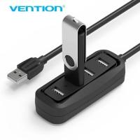 Vention [J43 0.15M] USB HUB 2.0 4Port OTG Support Pure Power