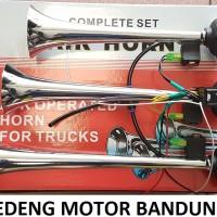 Klakson Telolet 3 Terompet Corong Angin Air Horn Mobil Truk Truck Bus