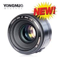 Jual LENSA FIX CANON YN 50mm f1.8 YONGNUO Murah