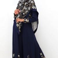Jual Gamis / Baju / Pakaian Wanita Muslim Syari Rose Blue Murah