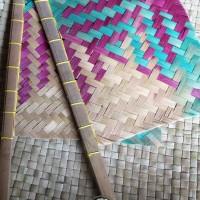 Kipas Sate Bambu / Hihid Tradisional
