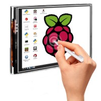 Jual LCD Display Module 3.5 inch TFT Touch Screen for Raspberry Pi Murah