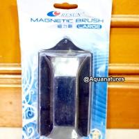 RESUN Magnetic Brush/Pembersih Kaca Aquarium size Large