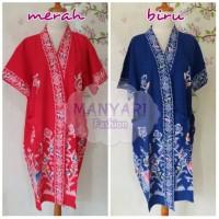 Jual Daster Kimono Batik Kencana Ungu Murah