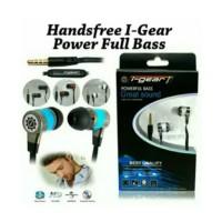 Harga headset i gear power full bass handsfree   antitipu.com