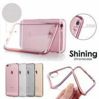 SoftCase List Chrome Samsung Galaxy E7 E700/Softcase/Case/Cover