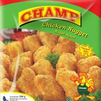 Monday Frozen - Champ Chicken Nugget 250gr/Naget Ayam/Cemilan/Frozen