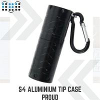 S4 Aluminum tip case Proud - Black