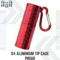 S4 Aluminum tip case Proud - Red