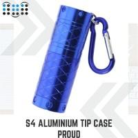 S4 Aluminum tip case Proud - Blue