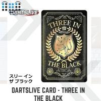 Dartslive Card - Three in the black color