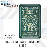 Dartslive card - Three in a Bed Green Card