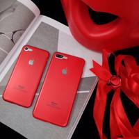 RED CASE IPHONE 5/5S/6/6S/6 PLUS/6S PLUS/7/7 PLUS