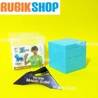 Rubik 3x3 : Yuxin Ice Qilin / Kylin Mirror 3x3x3 + CUBE STAND
