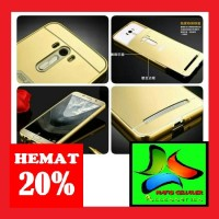 harga Asus Zenfone Selfie Zd551kl Metal Bumper Mirror Slide Back Cover Case Tokopedia.com