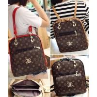 Harga tas import branded wanita ransel backpack fashion selempang pesta | Pembandingharga.com