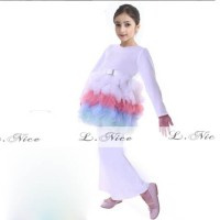Jual Beli Baju Muslim Anak Gamis Cantik Little Pony AGS3947