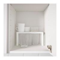 IKEA VARIERA Shelf Insert, Sisipan rak, Putih