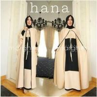 Gamis Pesta Hana set cream Gamis Hijab Muslim Cardi 145 Gamis Brokat