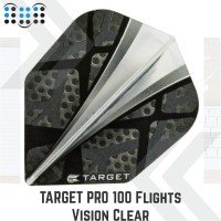 Target Pro 100 Flights Vision Clear Center Sail #300670