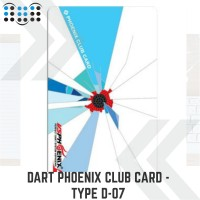 Dart Phoenix club card - Type D-07