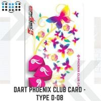 Dart Phoenix club card - Type D-08
