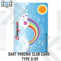 Dart Phoenix club card - Type D-09
